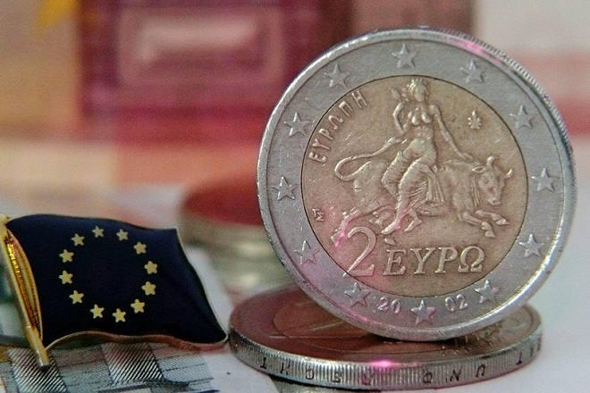 europe euro coin flag νομισμα ευρω ευρωπη σημαια