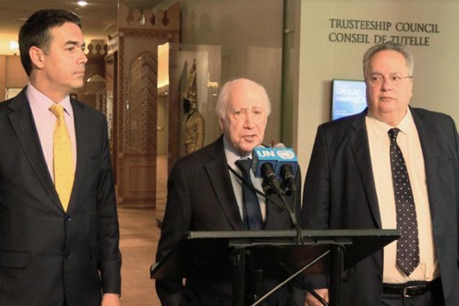 Νίμιτς: Δεν υπάρχει ακόμα τελική συμφωνία για την ονομασία της ΠΓΔΜ