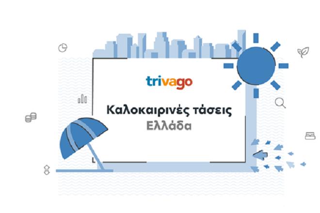 Έρευνα της trivago αποκαλύπτει τις τάσεις του ελληνικού τουρισμού