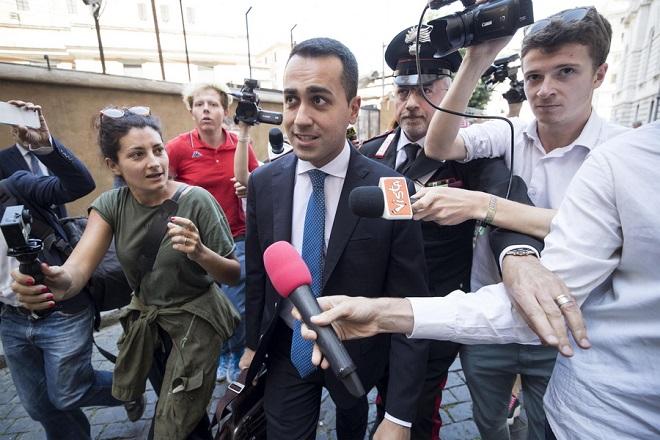 Ιταλία: Συνάντηση Ντι Μάιο-Σαλβίνι για τον σχηματισμό αποδεκτής κυβέρνησης