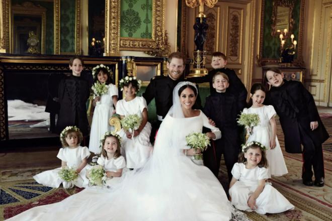 Πρίγκιπας Χάρι & Μέγκαν Μαρκλ: Οι επίσημες φωτογραφίες από τον γάμο τους