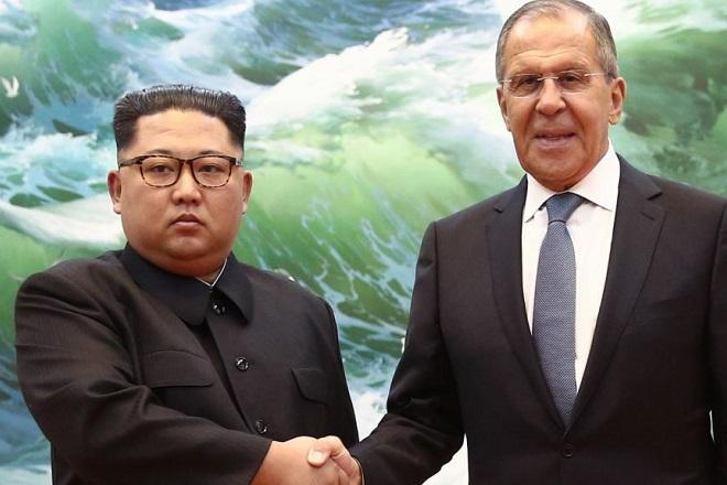 Κιμ σε Λαβρόφ: Παραμένω δεσμευμένος στην αποπυρηνικοποίηση