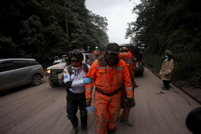 Αυξάνεται ο τραγικός απολογισμός στη Γουατεμάλα