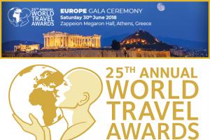 25th annual world travel awards