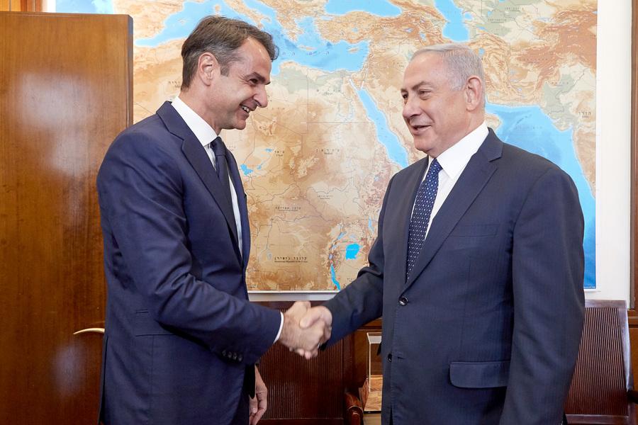 Συνάντηση Μητσοτάκη – Νετανιάχου για την ενίσχυση των σχέσεων Ελλάδας – Ισραήλ