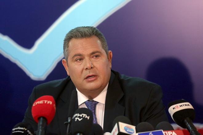Καμμένος: Η ΠΓΔΜ δεν θα δεχτεί τη συμφωνία για την ονομασία