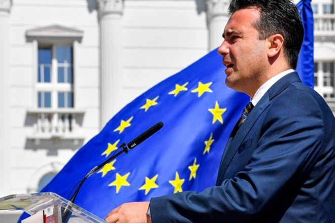 Ζάεφ: Θα συνεχίσουμε τις μεταρρυθμίσεις με στόχο την ένταξη στην Ε.Ε.