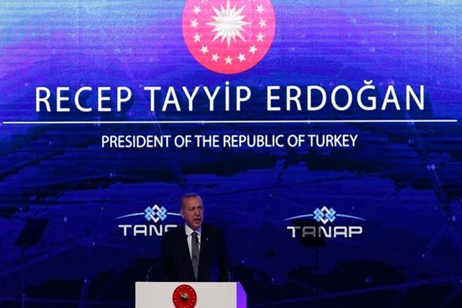 Εγκαίνια για τον αγωγό TANAP που θα μεταφέρει φυσικό αέριο στην Ευρώπη μέσω Τουρκίας