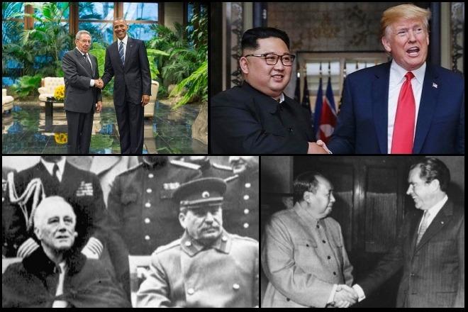 Από τον Στάλιν στον Τραμπ: Ιστορικές συναντήσεις πολιτικών ηγετών που σημάδεψαν την παγκόσμια ιστορία