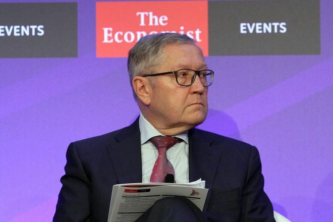 Ο Διευθύνων Σύμβουλος του Ευρωπαϊκού Μηχανισμού Σταθερότητας (ESM), Κλάους Ρέγκλινγκ παρίσταται στο Συνέδριο του Economist, που γίνεται στο Λαγονήσι, Πέμπτη 14 Ιουνίου 2018. ΑΠΕ-ΜΠΕ/hazliseconomist/ΣΤΑΥΡΟΣ ΓΙΑΝΝΟΥΛΗΣ
