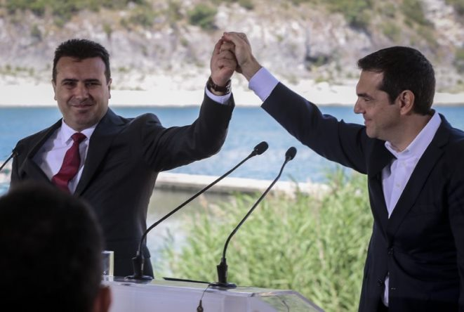 Υπεγράφη η συμφωνία για τη «Βόρεια Μακεδονία» στις Πρέσπες (βίντεο και εικόνες)