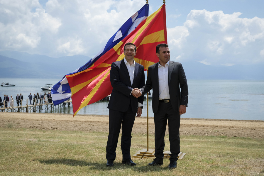Δημοσκόπηση – «σοκ» για τον Ζάεφ: Όχι στη συμφωνία των Πρεσπών λέει το 54,1% των πολιτών της ΠΓΔΜ