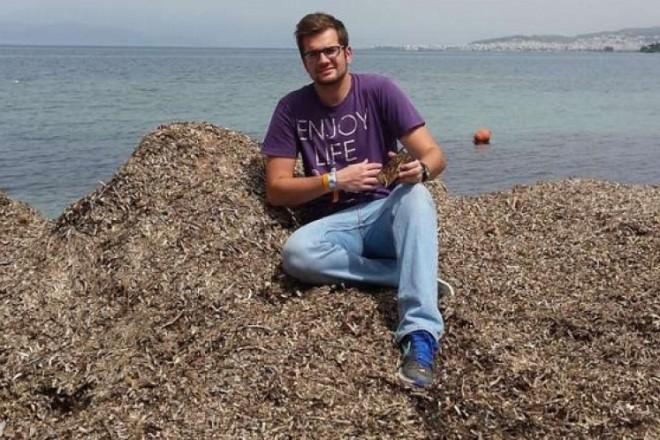 Σταύρος Τσομπανίδης: Τα αντικείμενα από φύκια που κατασκευάζει κέρδισαν και τους Γερμανούς