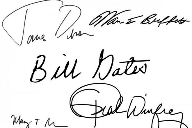 Τι μαρτυρά η υπογραφή δέκα πάμπλουτων επιχειρηματιών για τον χαρακτήρα τους