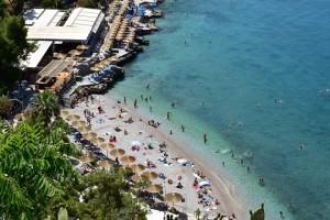 Καλοκαιρινά στιγμιότυπα από την παραλία της Αρβανιτιάς στο Ναύπλιο, Κυριακή 10 Ιουνίου 2018. ΑΠΕ-ΜΠΕ/ΑΠΕ-ΜΠΕ/ΜΠΟΥΓΙΩΤΗΣ ΕΥΑΓΓΕΛΟΣ