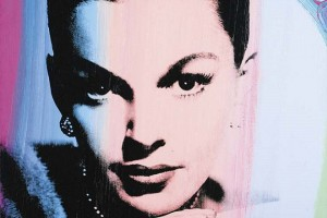 Andy Warhol, Judy Garland (1978). The canvas, apparently not from Liza Minnelli's collection Courtesy artnet Price Database.