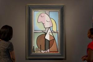 Picasso Buste de femme de profil πικασο πινακας