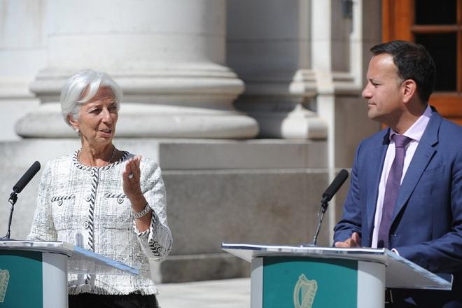 Λαγκάρντ: Η Ιρλανδία πρέπει να είναι έτοιμη για «μαζική άφιξη» εταιρειών από το Σίτι