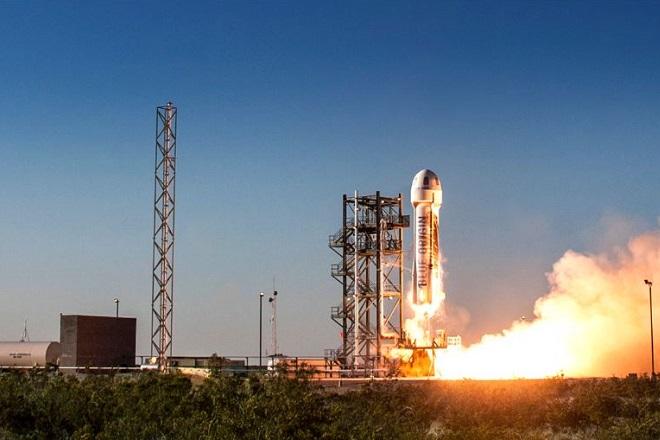 Διαστημικά ταξίδια υπόσχεται ο Τζεφ Μπέζος μέσα στο 2019
