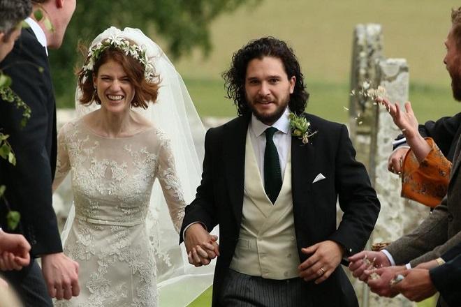 Κιτ Χάρινγκτον- Ρόουζ Λέσλι: Παντρεύτηκαν οι σταρ του Game of Thrones