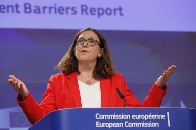 ΕΕ: Πιθανός ο περιορισμός στις εισαγωγές χάλυβα έως τα μέσα Ιουλίου
