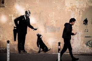 Paris Banksy 3 AFP