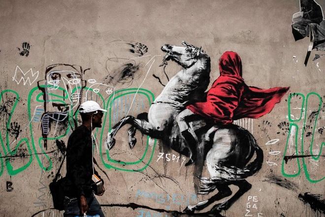Paris Banksy 4 AFP