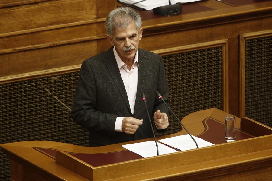 Δανέλλης: Το Ποτάμι να βάλει πλάτη στην κυβέρνηση εάν αποχωρήσουν οι ΑΝΕΛ