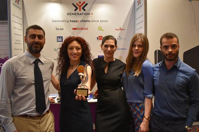 «Βραβείο Εξωστρέφειας» για την Generation Y στα e-Bizz AWARDS 2018
