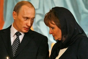 Russian President Vladimir and his now ex-wife Lyudmila Shkrebneva Sergey Ponomarev AP