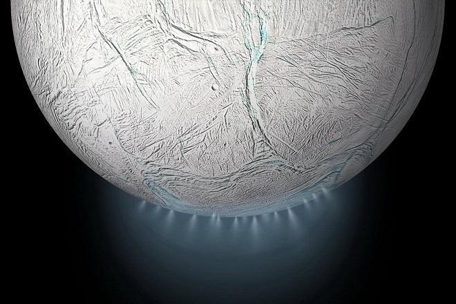 δορυφορος Εγκέλαδος του Κρονου Πηγή NASA