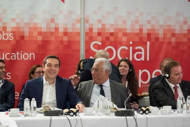Ο Αλ. Τσίπρας στη Σύνοδο του Ευρωπαϊκού Σοσιαλιστικού Κόμματος