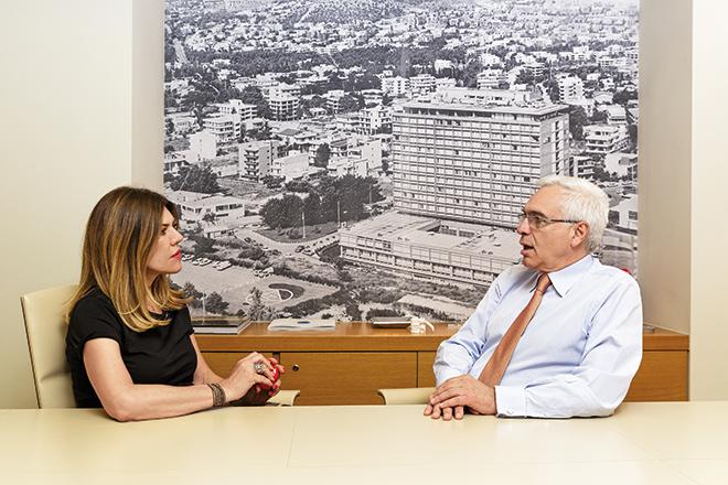H Βrand Manager του Fortune Αναστασία Παρετζόγλου με τον CEO του ΥΓΕΙΑ, Ανδρέα Καρταπάνη.