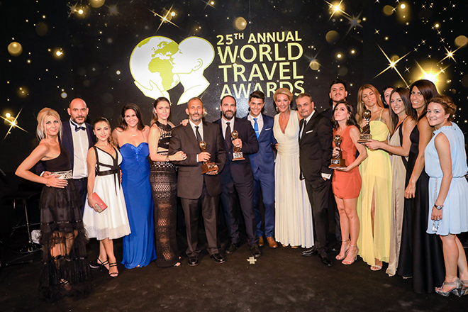 World Travel Awards 2018: Τα «Όσκαρ του Τουρισμού» έδειξαν την εμπιστοσύνη τους στην HotelBrain