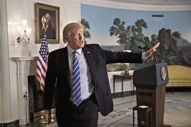 Ο Donald Trump και η «τέχνη» των ανατροπών