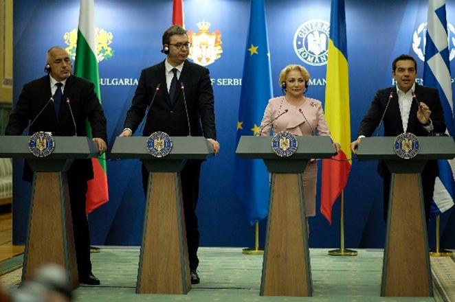 Ασφάλεια, προσφυγικό και συνεργασία σε υποδομές στην τετραμερή Ελλάδας-Βουλγαρίας-Σερβίας-Ρουμανίας