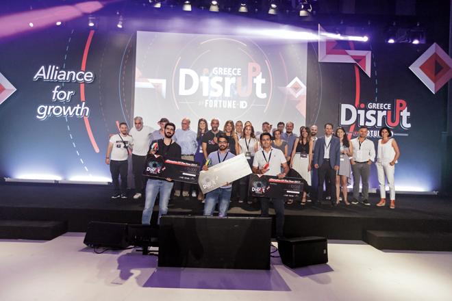 disrupt-2017-νικητές