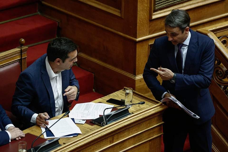 Δημοσκόπηση RASS: Στις 9,1 μονάδες η διαφορά ΝΔ-ΣΥΡΙΖΑ