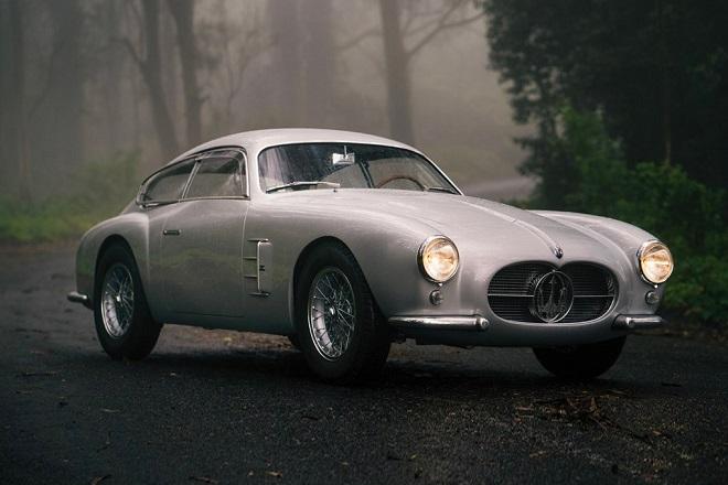 Σε δημοπρασία μια σπάνια Maserati του 1956