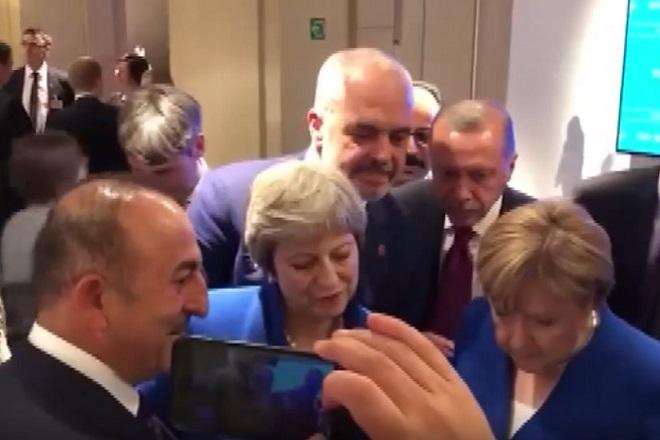 Βίντεο: Όταν οι ηγέτες του ΝΑΤΟ παρακολουθούν…Μουντιάλ