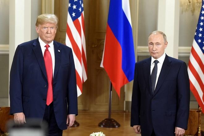 Τηλεφωνική επικοινωνία Τραμπ-Πούτιν