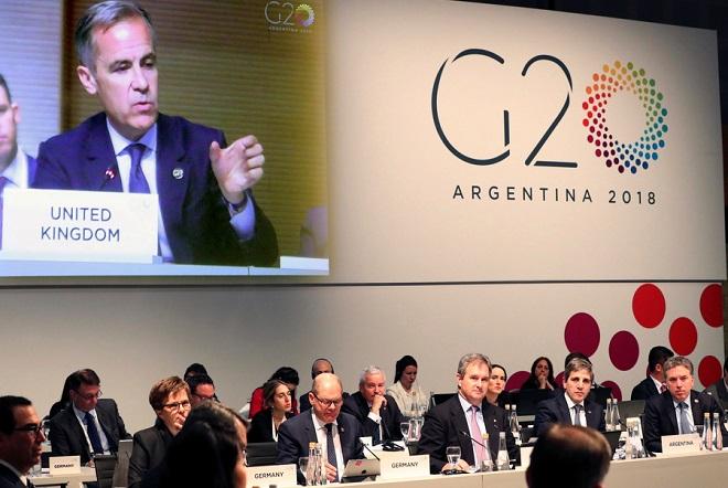 G20: «Καμπανάκι» για τις επιπτώσεις του εμπορικού πολέμου στην παγκόσμια ανάπτυξη