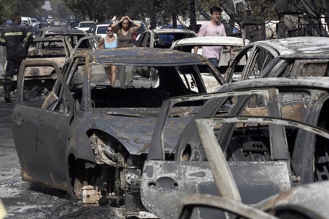 Ερυθρός Σταυρός: Άνοιξε λογαριασμός οικονομικής ενίσχυσης των πυρόπληκτων