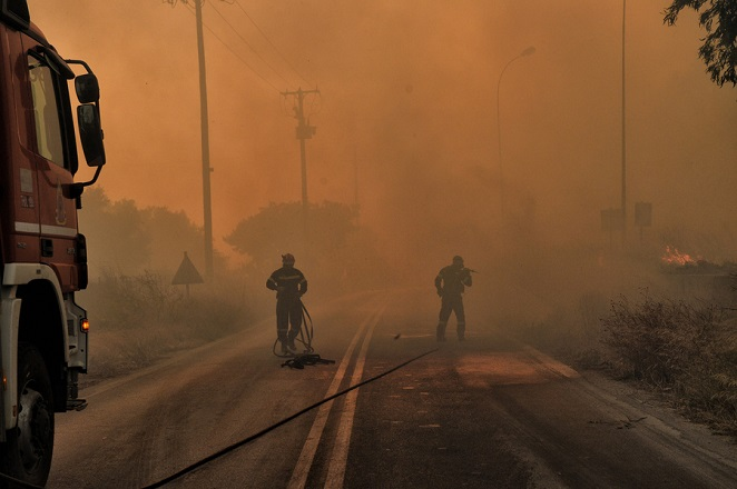 Στάχτη 71.300 στρέμματα από τη μεγάλη πυρκαγιά στα Γεράνεια