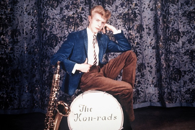 David Bowie in The Konrads  Circa 1962