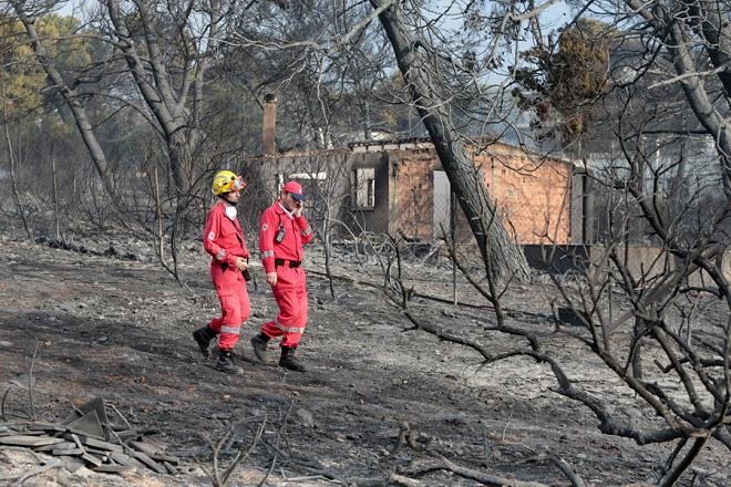 Στους 87 οι νεκροί από τις φονικές πυρκαγιές στην Ανατολική Αττική – Παραμένει ένας αγνοούμενος