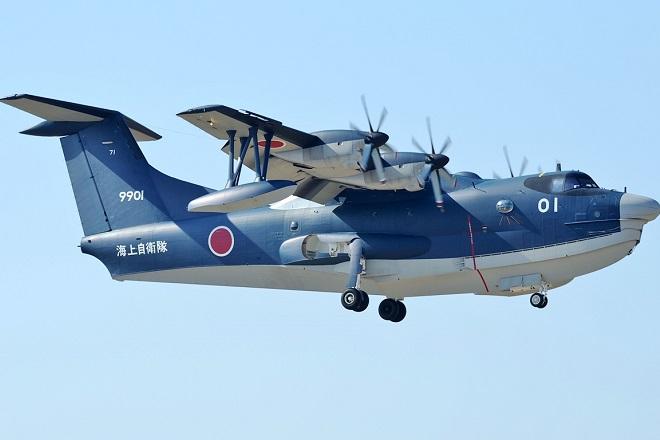 Bloomberg : Ενδιαφέρον της Ελλάδας για αγορά ιαπωνικών πυροσβεστικών αεροσκαφών