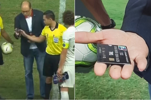 credit card football game