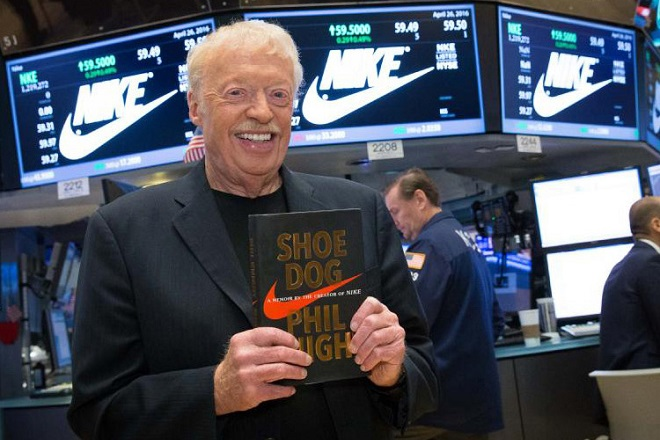 Phil Knight Shoe Dog book