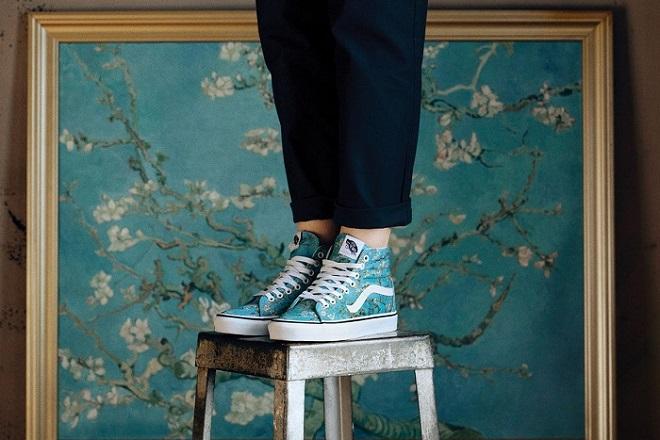 Συνεργασία Vans- Μουσείο Βαν Γκογκ: Για όσους θέλουν να… φορούν έργα τέχνης